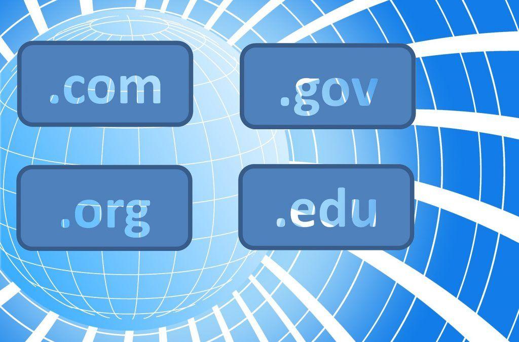 extensiones de dominios web