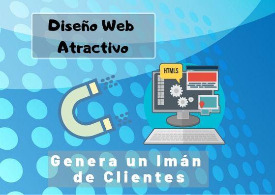 Diseño Web Atractivo atrae clientes