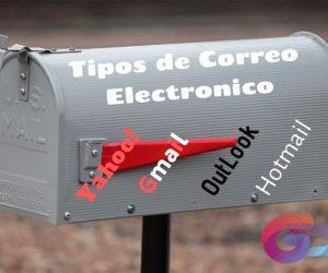 Tipos de Correo y Proveedores de correo electrónico