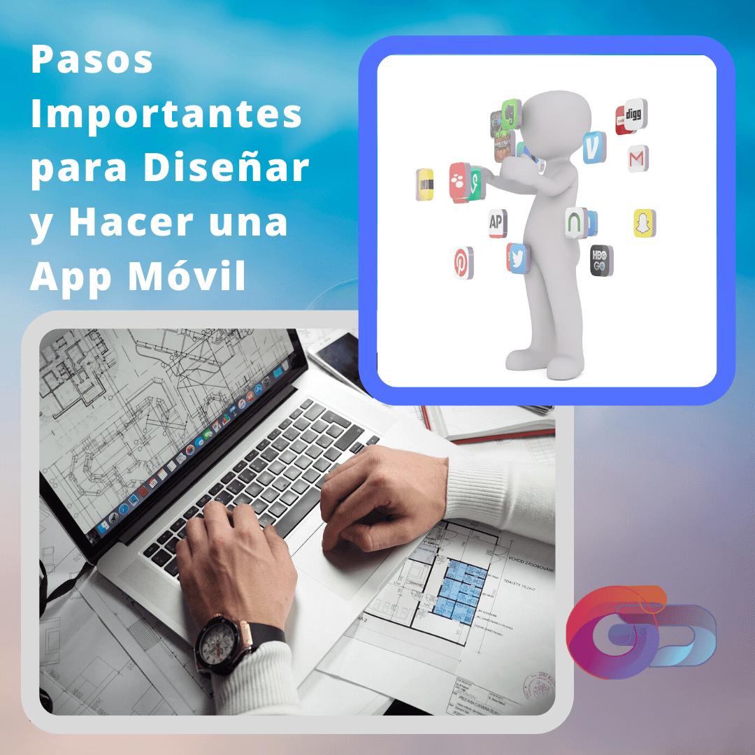 disenar y hacer una app movil